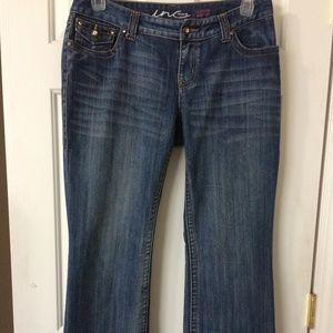 INC Curvey Fit Boot Cut Jeans